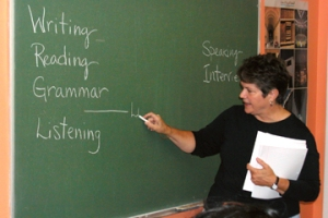 classes at English school