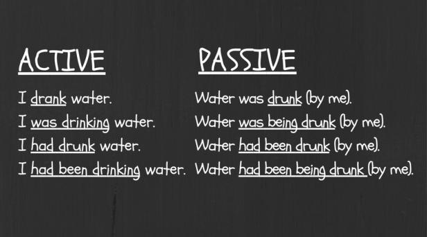 past-active-passive